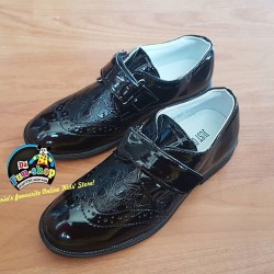 Just One Sight Boys Patent Dress Shoes  - EUR 27-36