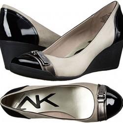 AK Anne Klein Sport Tamarow Wedge Pump  - Size - US 6 / Eur 38
