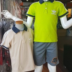 Adidas Boys Polo Tees