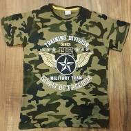 Gokmete Boys Camo Tee-Shirt