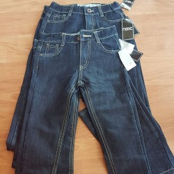 Next Boys Dark Blue Straight Denim Jeans Pants  - 4yrs, 6yrs, 10yrs