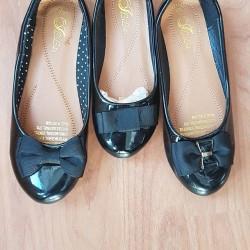 Bibas Patent Girls Shoes
