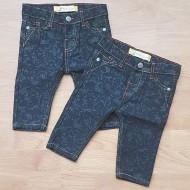 Toddler Boys Patterned Denim Jeans  9mths