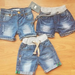 Baby Boys Denim Shorts 6mths