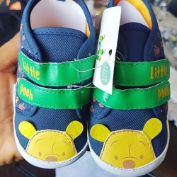 Disney Pooh Baby Boys Prewalker Shoes - 3-6mths, 6-12mths