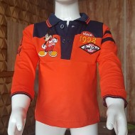 Disney Mickey Boys Long Sleeve Tee - 6-12mths, 12-18mths