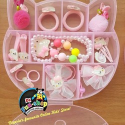 Girls 12pcs Accessories Set in Box