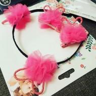 Girls 3 Piece Hair Accessories Gift Box