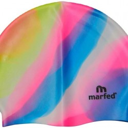 Silicone Swim Hats - assorted designs and colours