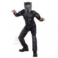 Black Panther Costume  3-7yrs