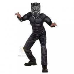 Black Panther Costume  3-7yrs