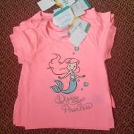 Disney Princess Girls Tees - 6-9mths, 9-12mths, 12-18mths, 18-24mths