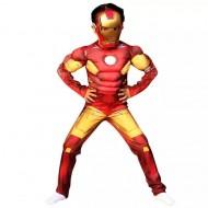 Boys Iron Man Costume - Size - 2-7yrs