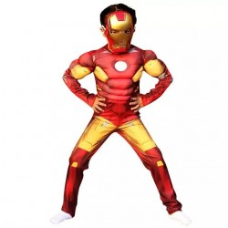 Boys Iron Man Costume - Size - 2-7yrs