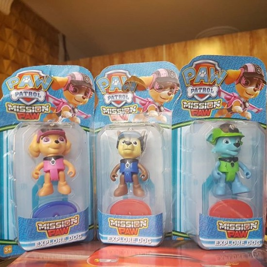 Paw Patrol Puppies Collectible Figure Toys - Available in - Rubble, Zuma,  Rocky, Skye, Chase and Marshall