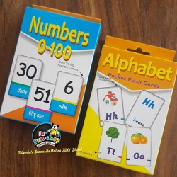 Numbers and Alphabets Flashcards