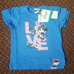 Disney Minnie Baby Girl Tees - Size - 6-9mths, 9-12mths , 12-18mths