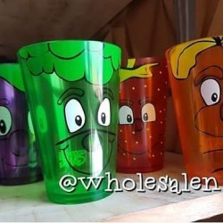 Colourful Fruit Tumblers
