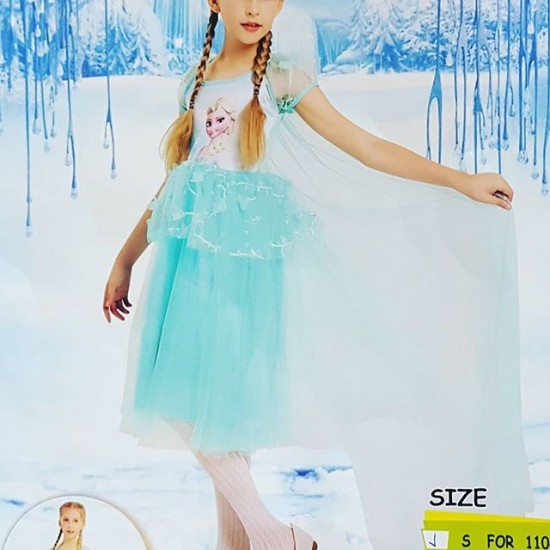 Frozen Princess Elsa Dress - 2-4yrs, 4-6yrs
