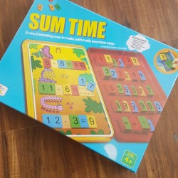 Sum Time (Tiles and Cards) - Counting, Addition, Subtraction and Multiplication