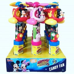 Disney Mickey & Minnie Mouse Clubhouse Helicopter Fan with Candy