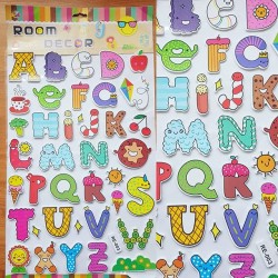 Large Alphabets Room Decoration Stickers