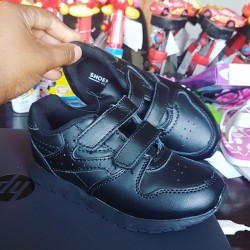 Shoe Mart Kids Black School Shoes -Sizes - UK 10, 11, 2.5