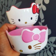 Lovely Hello Kitty Soup Bowls