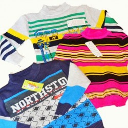 Chidren Sweaters- assorted designs (3-8yrs)