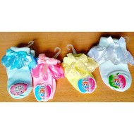 Baby/Infant Girls Lacy Socks- assorted colours (0-12mths)