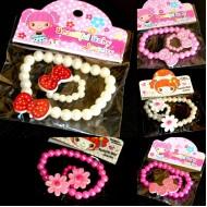 Beautiful baby Jewelry - Bracelet & Ring set