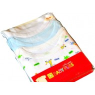 Baby Plus 3 Pack Boys Cotton Slip On Short Sleeve T-shirt (0-3, 3-6, 6-9, 9-12mths)