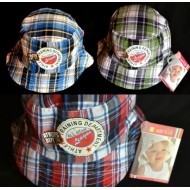Baby Plus Baby & Toddler Boy Plaid Sun hat (0-18mths)