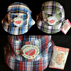 Baby Plus Baby & Toddler Boy Plaid Sun hat (0-18mths)