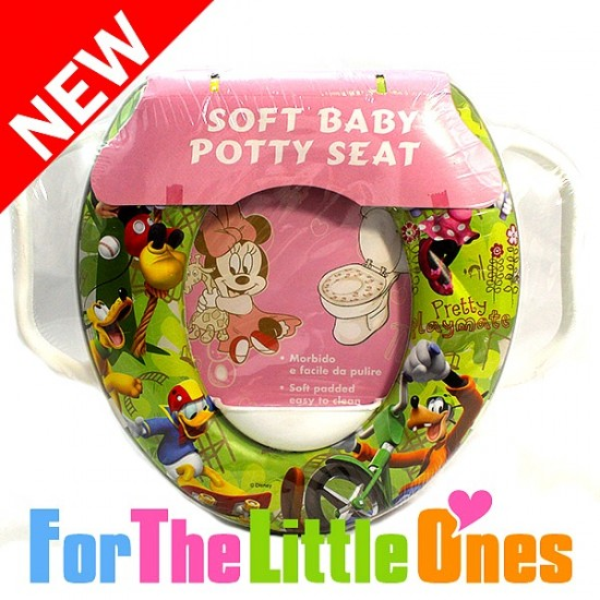 Character Soft Baby Potty Seat with Double handle- Kitty, Thomas, Mickey, Cars