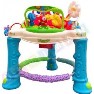 Rainforest Baby Walker - Jumperoo/Activity Center (with Rotational seat)