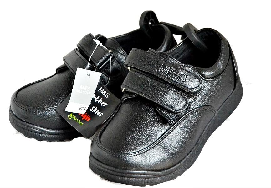 Marks \u0026 Spencer Boys School shoes- UK 9- 3
