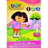 Activity Book- Write & Colour- Ben10, Dora, Hannah
