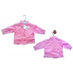Adams Baby Boy Long sleeve Shirt & Tie- 3-6mths, 6-9mths, 18-24mths