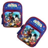 Disney Mickey Mouse Goofy Friends CLUBHOUSE Large 16inch Backpack