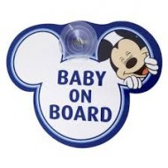 Baby on Board Car Sign-Mickey Mouse Character
