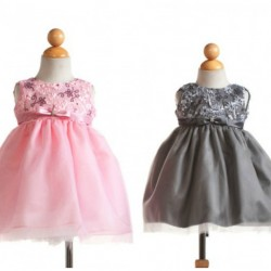 Crayon Kids: Baby girls Classy Special Occasion Dress- 12mths-24mths