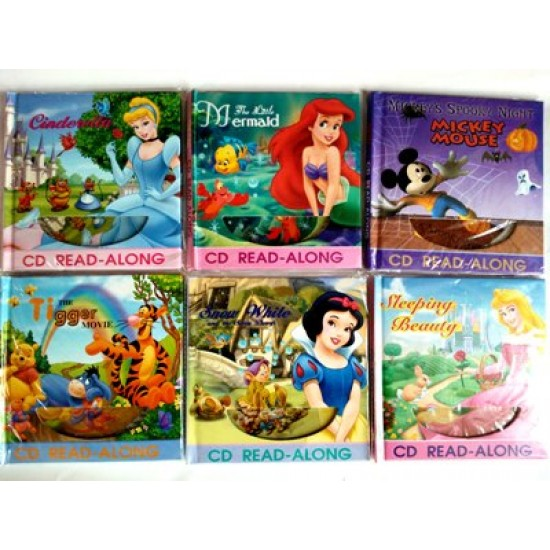 Read Along CD & BooK- Assorted Titles