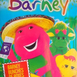 Barney 2 Episodes DVD- Bunches of Boxes & What a world we share