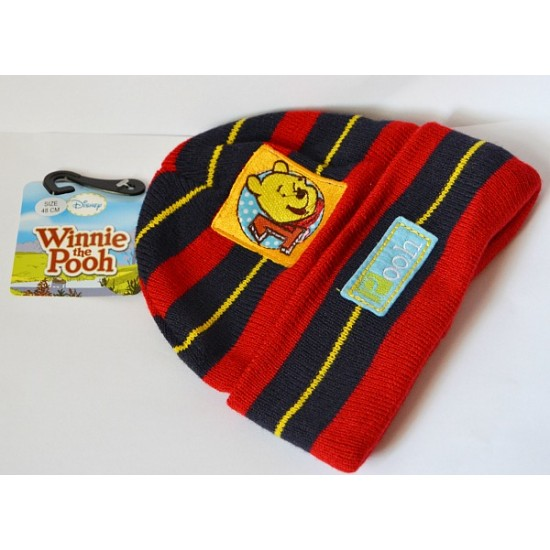 Disney Winnie The Pooh Warm Beanie Hat- 48cm (6-12mths)