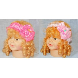Satin baby Bow Headband