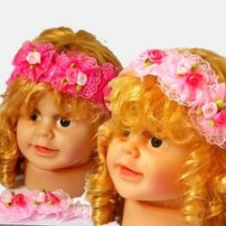 Baby Girls Rossette Head band 0-36mths