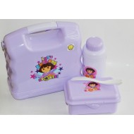 Technoplast Luigi School Lunchbox- Dora & Spiderman