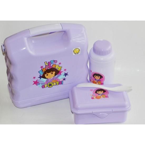 Technoplast Luigi School Lunchbox- Dora & Spiderman