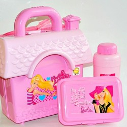 Technoplast House Plastic School Lunch box- Barbie (assorted colours)